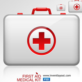 First Aid Medical Kit 1 - Free vector #203729