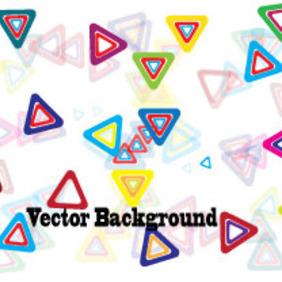 Triangle Colored Design Vector Graphic - Free vector #203869