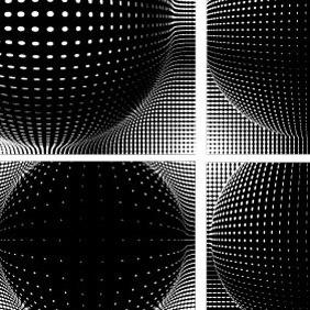 Halftone Artwork Vector - vector #204079 gratis