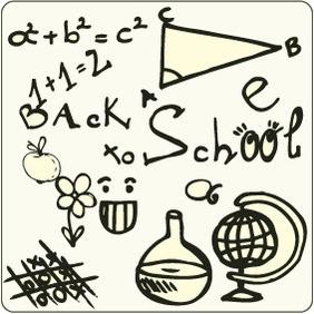Doodle School 6 - Kostenloses vector #204519