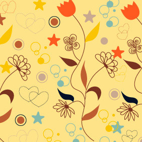Seamless Pattern 112 - Free vector #204859