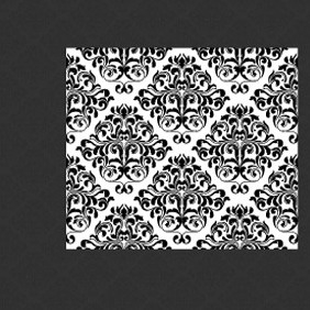 Damask Vector Pattern - Free vector #205039