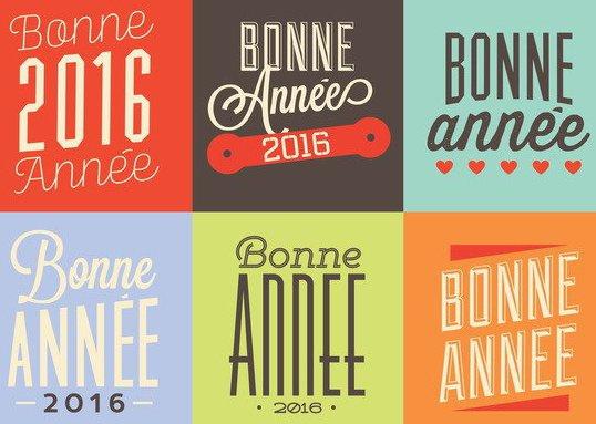 Bonne Annee - Free vector #205229