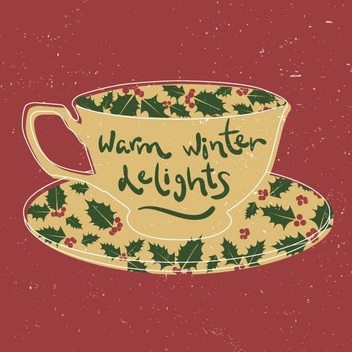 Warm Winter Delights - vector gratuit #205279
