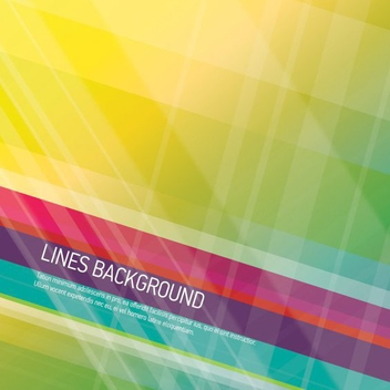 Lines Background - vector gratuit #205339