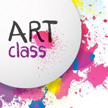 Art Class - Free vector #205399