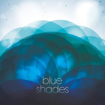 Blue Shades - vector gratuit #205519