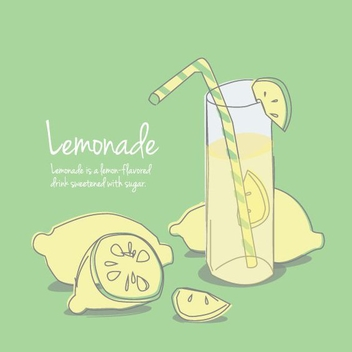 Lemonade - vector gratuit #205539