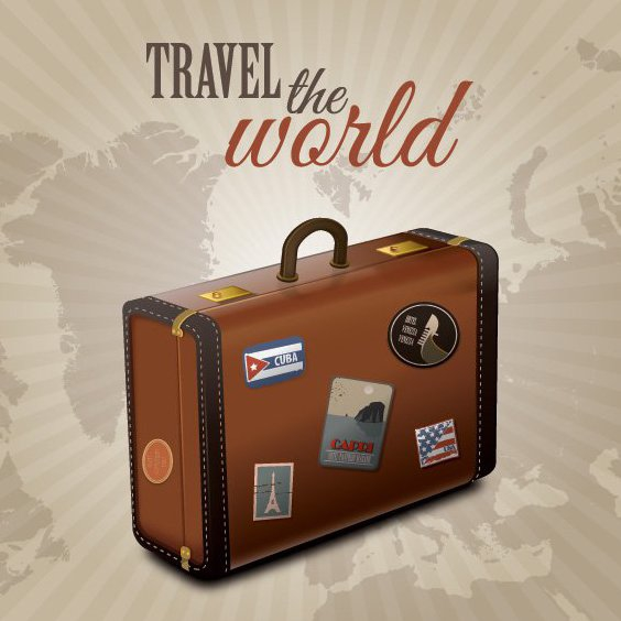 Summer Travel - Free vector #205589