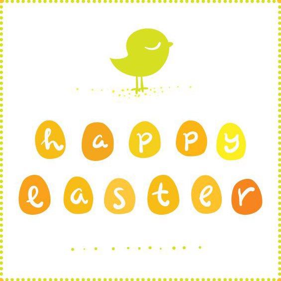 Süße Ostern Grußkarte - Free vector #205729