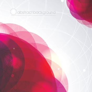 Abstract Background Circles - vector #205769 gratis