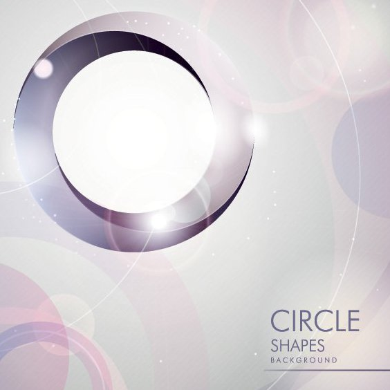 Circle Shapes - Free vector #205879