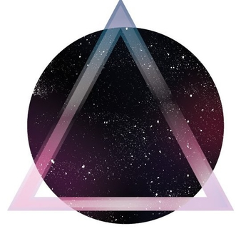 Space Triangle - vector gratuit #205929