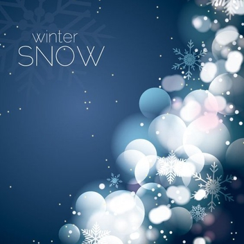 Winter Snow - vector #205979 gratis