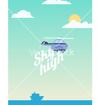 Free sky high vector - Free vector #206089