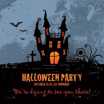 Halloween Party - vector gratuit #206239