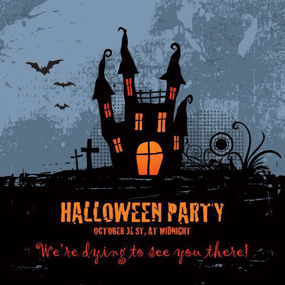 Halloween-party - Kostenloses vector #206239
