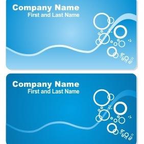 Sea Business Card Set - vector #206519 gratis