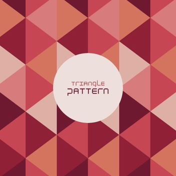 Triangle Pattern - Free vector #206669