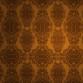 Seamless Wallpaper - vector gratuit #206729