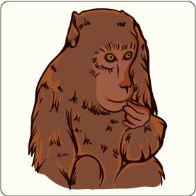 Monkey 2 - Kostenloses vector #206789
