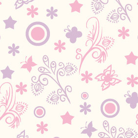 Seamless Pattern 67 - Free vector #206899