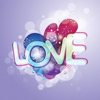Love Vector - Free vector #207199