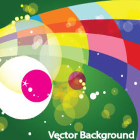 Colored Design In Bokha Green Background - vector gratuit #207229