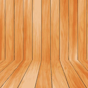 Wooden Plank Wall - Free vector #207299