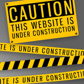 Website Under Construction - vector gratuit #207449
