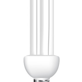 Eco Energy Saving Light Bulb - Kostenloses vector #207459