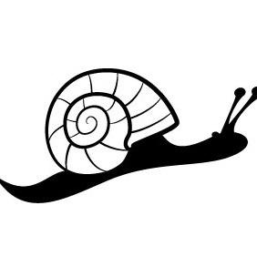 Snail Vector - Kostenloses vector #207819