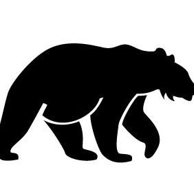 Bear Vector - vector gratuit #207829