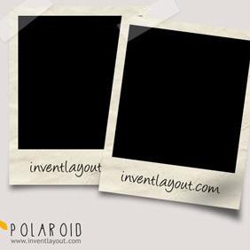 Polaroid PSD - vector #207869 gratis