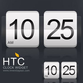 HTC Calendar Widget - Kostenloses vector #207929