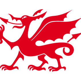 Welsh Dragon - vector gratuit #208269