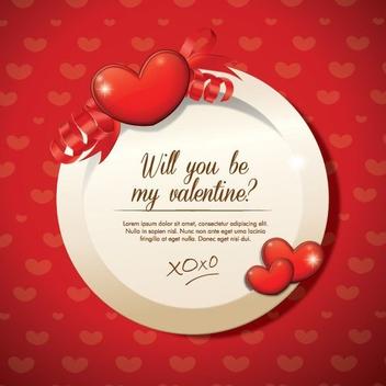 Valentines Design - Free vector #208309