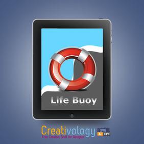 Free Vector Life Buoy - vector #208329 gratis