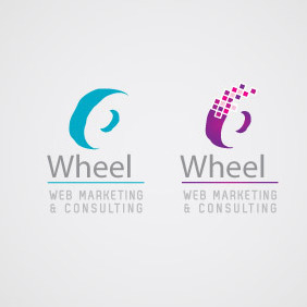 Web Marketing Logo 05 - vector gratuit #208339