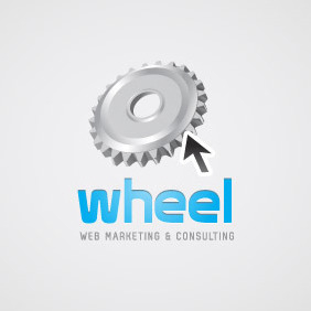 Web Marketing Logo 04 - бесплатный vector #208379