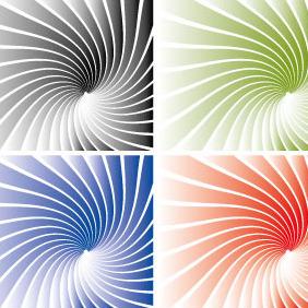 Gradient Sunbeams Background - Free vector #208549