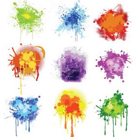 Splatter Pack - Free vector #208579
