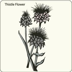 Http:www.allfreevectors.comThistle-flower-17155.html - vector #208849 gratis