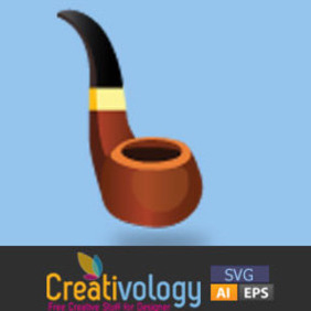 Free Vector Tobacco Pipe - Free vector #208909