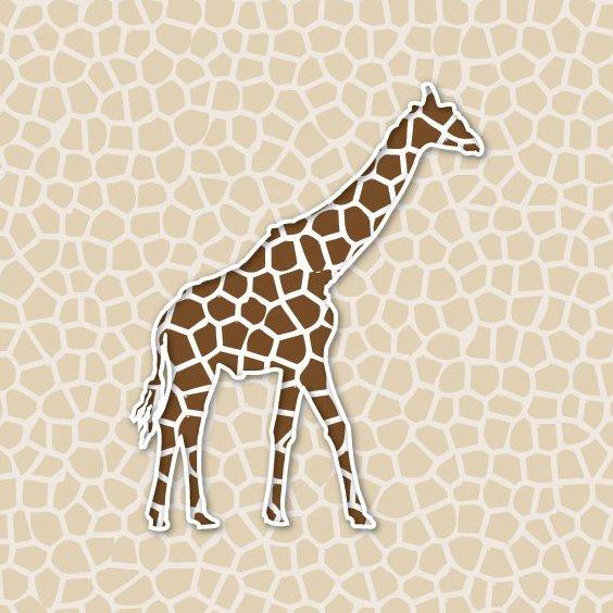 Жираф фон - бесплатный vector #209299