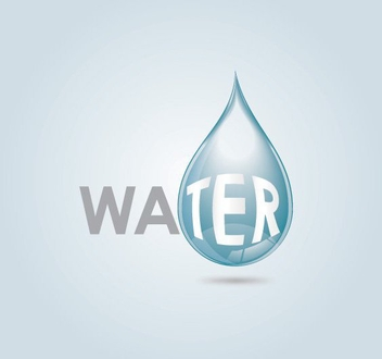 Water Drop - vector gratuit #209309