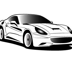 Ferrari Vector Image - Free vector #209429