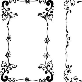 Floral Frames Set 1 - Free vector #209869