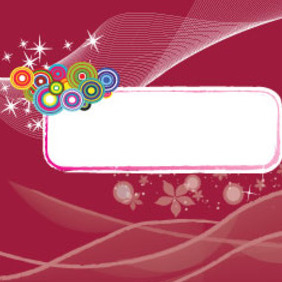 Grunge Banner In Red Background Free Art - Free vector #209939