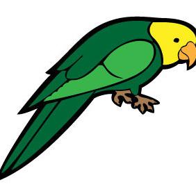 Parrot Vector Image VP - Kostenloses vector #210099